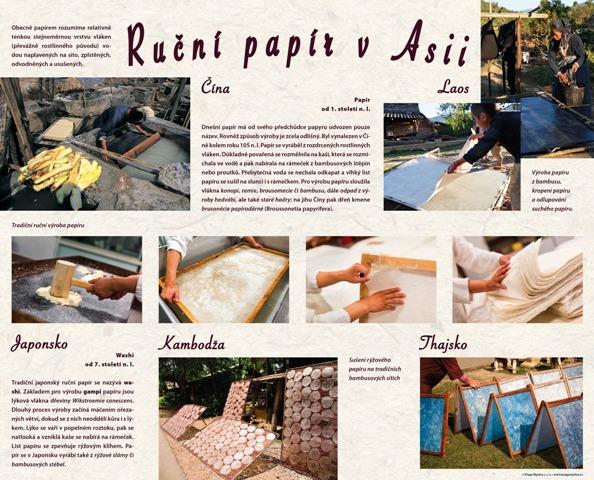 Rucni papir v Asii