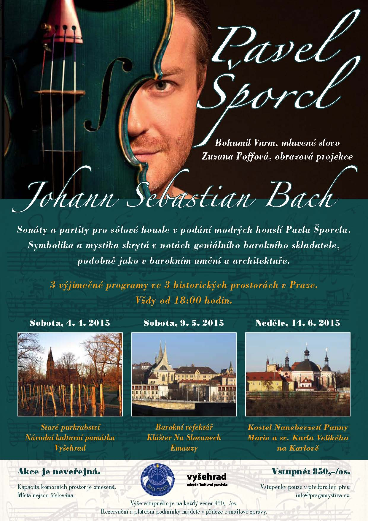 Program s Pavlem Sporclem_plakat